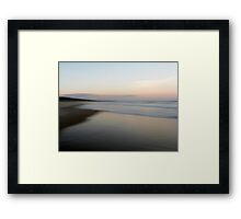 Beach Impressions - North Framed Print