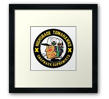 Highgrade Tomahawks Framed Print
