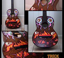 Devil Vs Al Guitar by trickmonkey