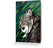 Iberian lynx Greeting Card