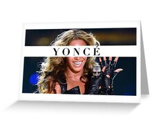 Whoops yonce Greeting Card