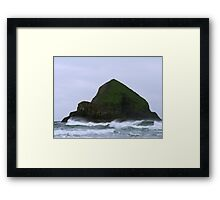 Lone Island Framed Print