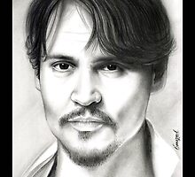 Johnny Depp  by emizaelmoura