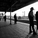 One Morning at Southall Station by Andy Martin