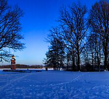 Evening in Moritzburg, Saxony by Senthil Nath G T