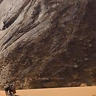 Sand-boarding - Yemen by Lisa Germany