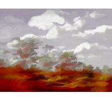A Sunburnt Country  Photographic Print