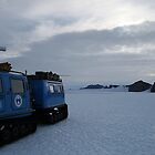 Hugglunds Vehicle Antarctica by Adam Wightman