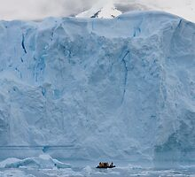 Explorers and iceberg by David Burren