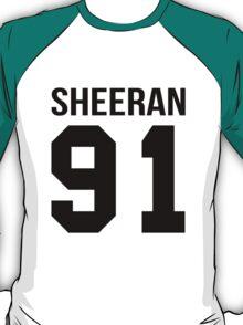 Ed Sheeran College style [BLACK] T-Shirt