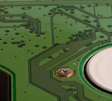 Cross section of a printed circuit board by ashishagarwal74