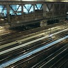 Railroads, Paris by 64iso