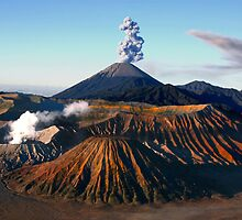 MT. BROMO PANORAMA - EAST JAVA  by Michael Sheridan