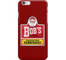 Unconventional Burgers iPhone Case/Skin