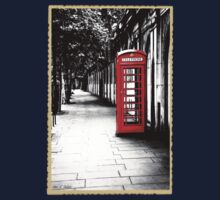 London Calling - Iconic British Phone Box Kids Clothes
