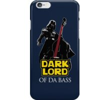 Dark Lord of Da Bass (Star Wars) iPhone Case/Skin