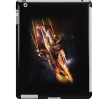 Sharktopus, in Space with Lasers! iPad Case/Skin