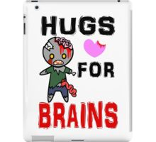 Hugs for Brains <3 iPad Case/Skin