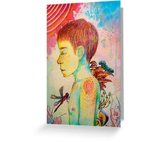Forest child Greeting Card