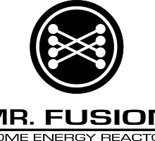 Mr. Fusion Home Energy Reactor by kerchow