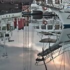 Mirror in the harbour by awefaul