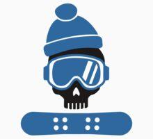 Snowboard skull Kids Clothes