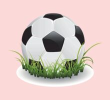 Soccer Ball with Grass Kids Clothes
