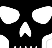 Skull crossed hammer Sticker