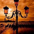 VENICE ON FIRE by Scott  d&#x27;Almeida