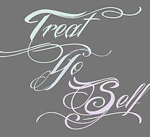 Treat Yo Self Pastels by sheilastromberg
