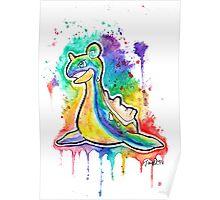 Beautiful Lapras Tshirts + More ' Pokemon ' Watercolor Poster