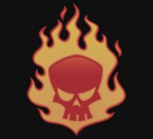 Flaming Skull by fizzgig