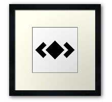 Madeon Adventure Logo - Black Framed Print