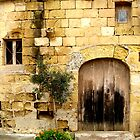 An old village farm house Gozo Malta by DeborahDinah