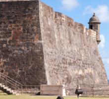Castillo de San Cristobal. Sticker