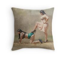 Play Nice Throw Pillow