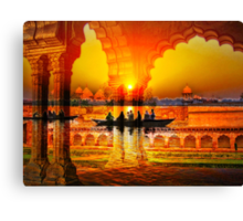 On the Waves of my Memory (India) Canvas Print