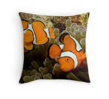 Me and my family Throw Pillow