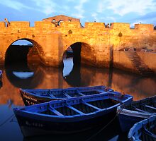 blue boats by photofit