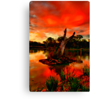 """Sundown at Balyang"" Canvas Print"