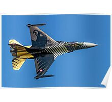 TUSAS-GD F-16C Fighting Falcon 91-0011 Poster