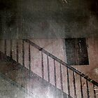 woman on stairs at the Myrtles Plantation by kimbeaux1969