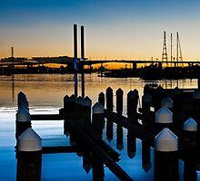 Docklands at Dusk    [e] by DavidsArt