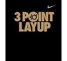 3 Point Layup Photographic Print