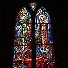 Church of St Pierre Le Mont Saint Michel by aidan  moran