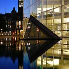 Salt Lake Library Reflection by Ken Fortie