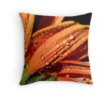 Orange sundrops. Throw Pillow