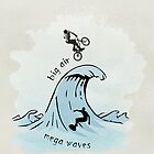 big air, mega waves by vinpez