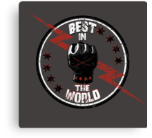 Best In The World Canvas Print