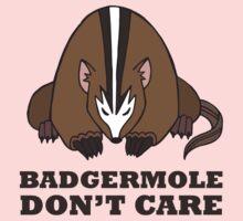Badgermole Don't Care Kids Clothes